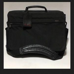 TUMI 26071D4 Ballistic Nylon Laptop Case CROSSBODY